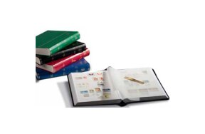 STAMP COLLECTION BOOK BASIC WHITE PAGES